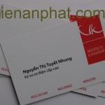 in name card chuyên nghiệp