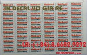 In decal vỡ giá rẻ tại Bình Thạnh, TPHCM