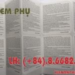 in tem phụ giá rẻ tại Bình Thạnh, TPHCM