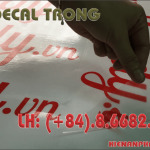 In decal trong