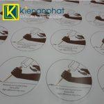 In tem decal giấy số lượng ít giá rẻ tại tphcm