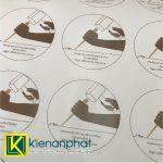 Ưu điểm in decal dán sản phẩm loại giấy