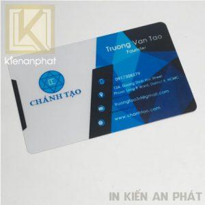Xưởng in thẻ nhựa cao cấp giá rẻ HCM