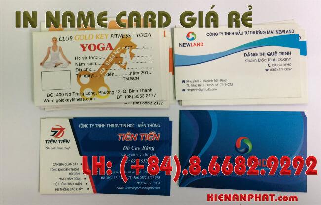 in name card giá rẻ