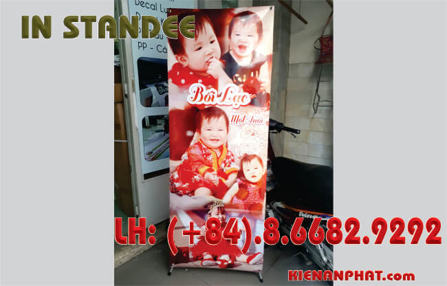 in standee