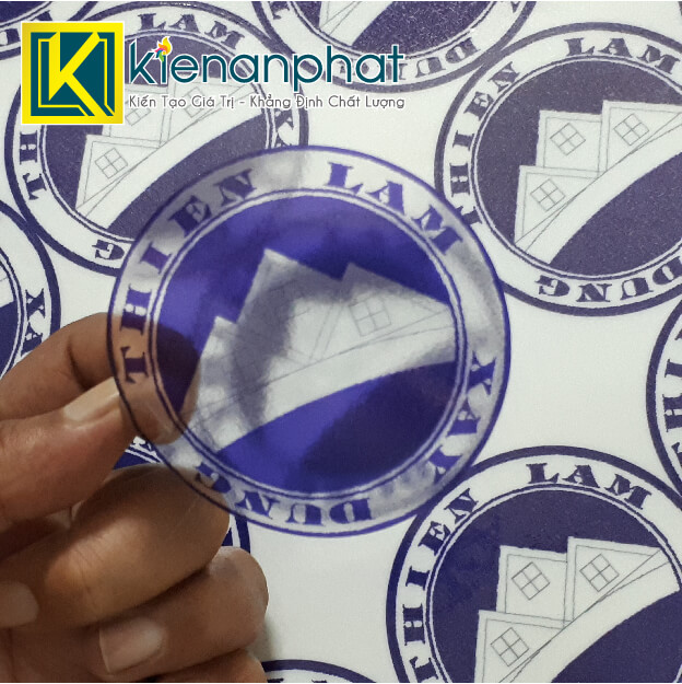 in decal trong suốt