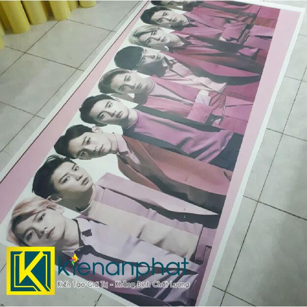 in poster kpop