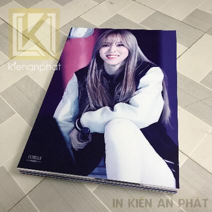 in poster thần tượng kpop