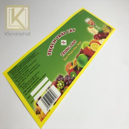 Thiết kế và in tem nhãn decal tphcm