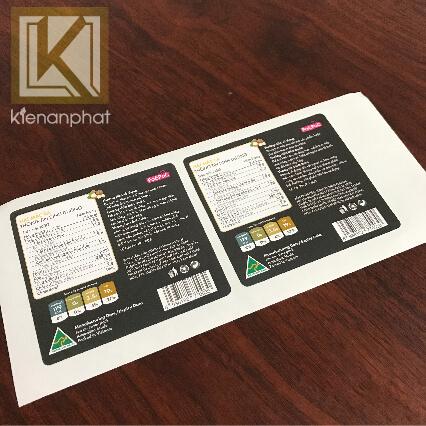 ứng dụng của in nhãn decal giấy