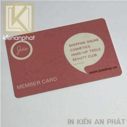 Dịch vụ in thẻ nhựa chuyên nghiệp chất lượng uy tín