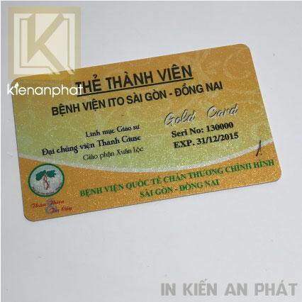 Dịch vụ in thẻ nhựa lấy ngay tại HCM
